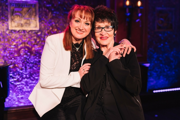 chita-rivera-caroline-o-connor-warm-up-for-the-rink-at-southwark-playhouse