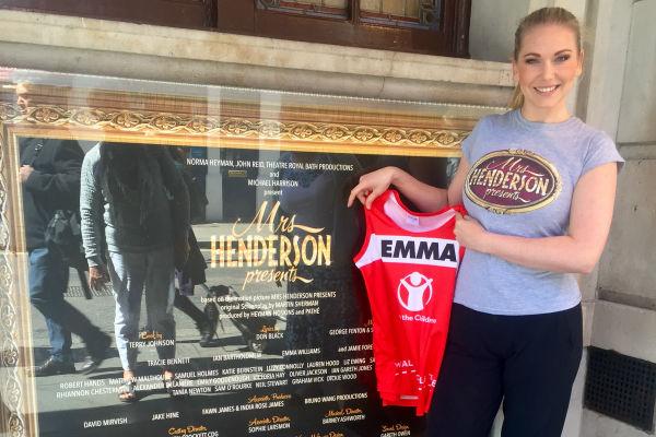 why-is-mrs-henderson-presents-star-emma-williams-running-the-london-marathon