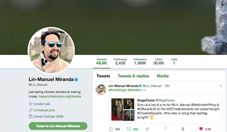 did-lin-manuel-miranda-announce-his-wife-s-pregnancy-via-stagefaves-the-eyes-have-it