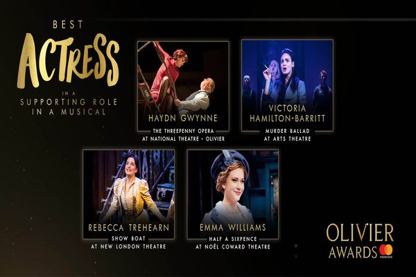 get-social-the-olivierawards-best-supporting-actress-in-a-musical-nominees-at-the-celebration-lunch