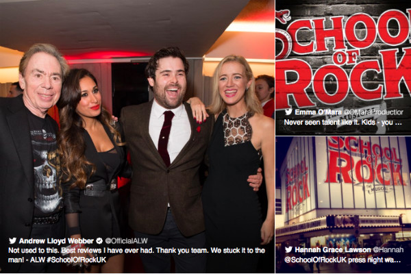 getsocial-our-fave-tweets-from-schoolofrockuk-s-premiere
