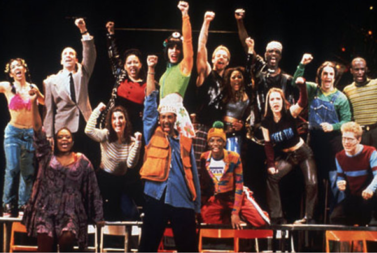 blastfromthepast-the-original-broadway-cast-of-rent-perform-at-the-1996-tony-awards