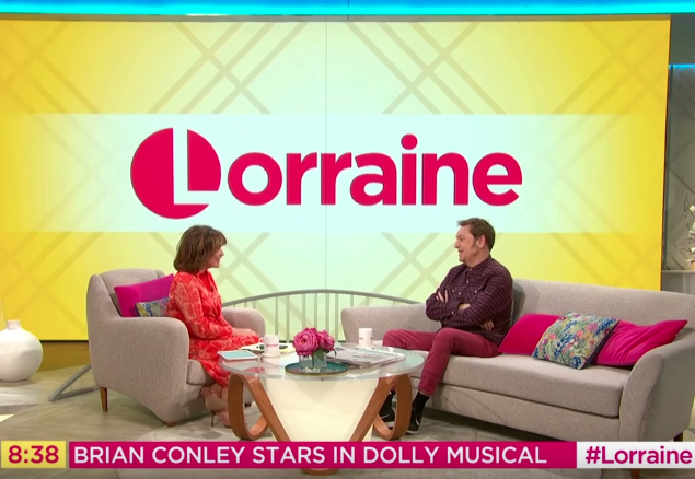 watch-brian-conley-talks-9-to-5-being-mistaken-for-bradley-walsh-on-the-lorraine-show