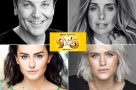 Work it girls! Louise Redknapp, Natalie McQueen, Amber Davies & Brian Conley star in the West End production of Dolly Parton's 9 To 5 The Musical