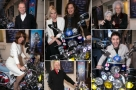 Which celebs hopped on the All or Nothing scooter at the show's West End gala?