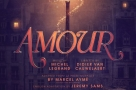 London's Charing Cross Theatre plays host to the UK professional premiere of Michel Legrand's award-winning musical Amour