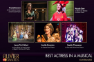 #OlivierAwards nominees: Get to know... Best Actress in a Musical