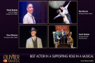 #OlivierAwards nominees: Get to know... Best Actor in a Supporting Role in a Musical