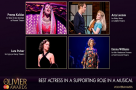 #OlivierAwards nominees: Get to know... Best Actress in a Supporting Role in a Musical