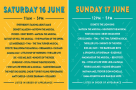 Have you planned what you're seeing when at #WestEndLive? Click here for the full weekend schedule. (Can we see EVERYTHING? #WestEndLivecampout)