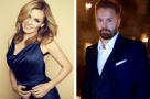 Alfie Boe & Katherine Jenkins hop on Carousel at Coliseum