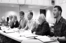 WATCH: The cast of the Donmar's Committee musical 'Want to Learn' in rehearsal
