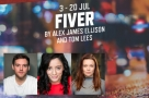 Daniel Buckley, Hiba Elchikhe & Kayleigh McKnight are to star in new British musical Fiver at Southwark Playhouse