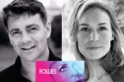 Broadway babies: Alexander Hanson ‏& Joanna Riding join the cast when Follies return to NT