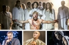 Back with Jesus Christ Superstar: Tyrone Huntley, Declan Bennett, David Thaxton & Peter Caulfield
