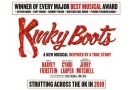 These boots were made for walking...right across the country! Kinky Boots announces its UK tour