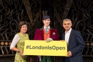 #LondonIsOpen: Mayor joins West End-wide musicals photocall