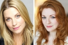 Working closely together: Louise Dearman and Laura Pitt-Pulford conjoin in Side Show