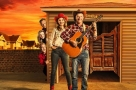 Yeehaw! Debra Stephenson stars in the world premiere of Tony Hawks new musical Midlife Cowboy