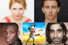 Bronté Barbé, Isaac Gryn, Emmanuel Kojo & Scott Karim join the company of Oklahoma! at Chichester Festival Theatre