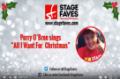 WATCH: Perry O'Bree sings 'All I Want for Christmas'... #StageFaves style