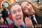 WATCH: Perry O'Bree meets #StageFave stars on the #OlivierAwards red carpet