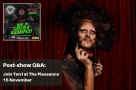 Join Faves founder Terri for mind-bending magic, dancing drag queens at How to Catch a Krampus post-show Q&A