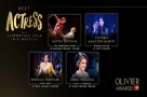 Get Social: The #OlivierAwards Best Supporting Actress in a Musical Nominees at the Celebration Lunch