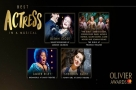 Get Social: The #OlivierAwards Best Actress in a Musical Nominees at the Celebration Lunch