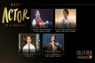 Get Social: The #OlivierAwards Best Actor in a Musical Nominees at the Celebration Lunch