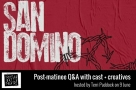 Join Faves founder Terri Paddock for San Domino post-show Q&A on 9 June