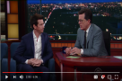Watch: Andy, you're a star! Olivier Winner & Tony Award nominee Andy Karl visits The Late Show