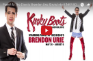 Across the pond: WATCH Brendon Urie get ready for his Broadway debut in KINKY BOOTS