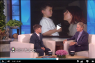 WATCH: 12 year old boy performs show-stopping DREAMGIRLS number on the Ellen Show