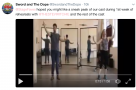 WATCH: Behind the scenes in the first week of rehearsals for The Sword in the Dope
