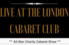 West End StageFaves come together for charity at the London Cabaret Club