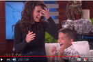 Across the pond: WATCH Idina Menzel surprise her super-talented superfan on The Ellen Show