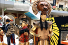 Disney's The Lion King celebrates 15 million guests with pop-up in London's Waterloo station