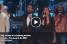 WATCH: Josh Groban & Sara Bareilles open 2018 Tony Awards with a dedication those who lose!