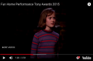 "WATCH: #StageFavesSongOfTheWeek - ""Ring Of Keys"" from Fun Home performed live at the 2015 Tony Awards"