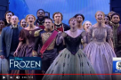 "WATCH: #AcrossThePond - The cast of Frozen perform ""For The First Time In Forever"""