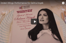 WATCH: Nadim Naaman & Rob Houchen perform Broken Wings' Selma for Salma Hayek!