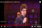"#StageFavesSongOfTheWeek - Jonathan Groff & the original cast of Spring Awakening perform ""The Bitch of Living"""
