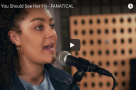 "WATCH: Have you seen this awesome video of @zukihoyle singing ""You Should See Her Fly"" from @FanaticalShow. #Featured @playgroundW10"