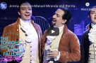 "WATCH: #HamiltonHumpDay - Jimmy Fallon joins the Puerto Rico cast of Hamilton for ""The Story of Tonight"""
