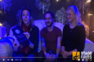 Watch: #StageFaves gets into the Christmas spirit with George Maguire & Rachael Wooding