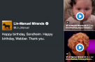 Have you joined Lin-Manuel's #SondWebParty on Twitter?