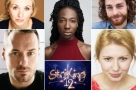 Clocking on: Declan Bennett & Bronté Barbé will lead the cast of Off-Broadway musical Striking 12 at the Union Theatre