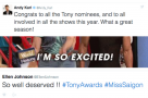 Get Social: Reactions to the 2017 Tony Award Nominations in 14 #TopTweets