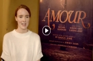 WATCH: Talking to Gary Tushaw & Anna O'Byrne in rehearsals for Amour + character portraits